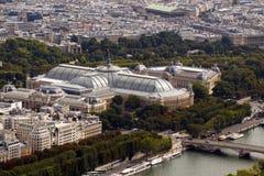Palais magnífico y Petit Palais Fotos de archivo