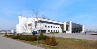 Palais moderne de glace des sports, Gomel, Belarus Photo libre de droits