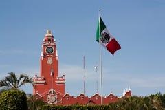 Palais municipal à Mérida images libres de droits