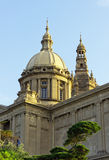 Palais national Barcelone Image stock