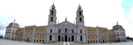 Palais national de Mafra au Portugal Photographie stock