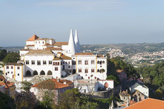 Palais national de Sintra photo stock