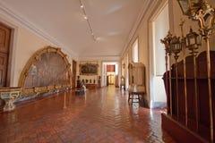 Palais national intérieur de Mafra (Portugal) Images stock