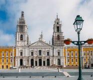 Palais national royal de couvent et de palais de Mafra, baroque et néoclassique - monastère, Portugal image stock