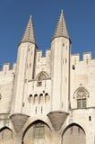 Palais papal, Avignon, France image libre de droits