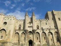 Palais papal d'Avignon photographie stock libre de droits