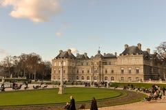 palais paris дворца du Франции Люксембурга Стоковые Фотографии RF