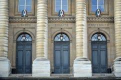 palais paris правосудия de Франции Стоковая Фотография RF