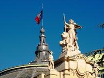 palais paris Франции грандиозные Стоковая Фотография