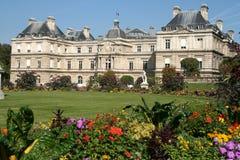 palais paris för du luxembourg Royaltyfri Foto
