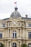 Palais Paris France du luxembourgeois photographie stock libre de droits