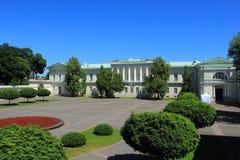 Palais présidentiel à Vilnius, Lithania images libres de droits