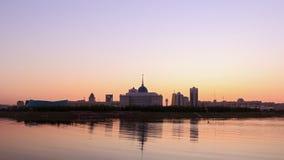Palais présidentiel Astana, Kazakhstan banque de vidéos