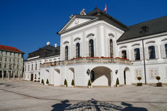 Palais présidentiel de Grassalkovich, Bratislava Photo stock