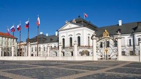 Palais présidentiel de Grassalkovich, Bratislava Images libres de droits