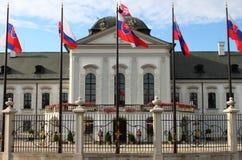 Palais présidentiel de la Slovaquie, Bratislava Photographie stock