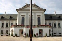 Palais présidentiel de la Slovaquie, Bratislava Image libre de droits