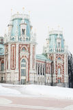 Palais principal de XVIIIème siècle en parc de Tsaritsyno Photographie stock libre de droits