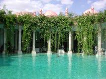 Palais Rhoul Pool 2 Stockfotografie