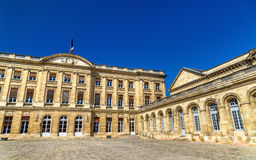 Palais Rohan, the City Hall of Bordeaux - France Royalty Free Stock Photography