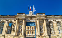 Palais Rohan, the City Hall of Bordeaux - France. Aquitaine Stock Photography
