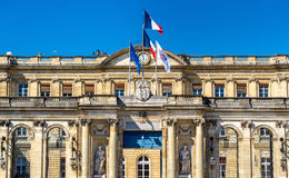 Palais Rohan, the City Hall of Bordeaux - France. Aquitaine Royalty Free Stock Photo