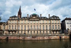 The Palais Rohan in Strasbourg, France Stock Image