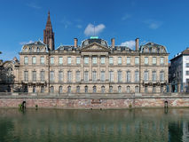The Palais Rohan in Strasbourg, France Stock Images