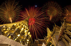 Palais royal à Bangkok Images stock
