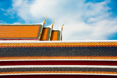 Palais royal à Bangkok Images libres de droits