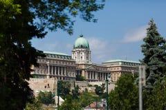 Palais royal à Budapest Photographie stock