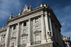 Palais royal à Madrid Images stock