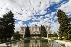 Palais royal à Madrid, Espagne Image libre de droits