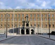 Palais royal à Stockholm Images stock