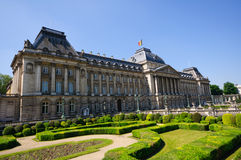 Palais Royal in  Brussels, Belgium Stock Images