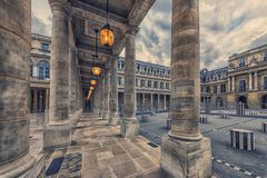Architecture in Paris stock image