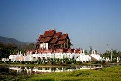 Palais royal de Flora en Thaïlande Images libres de droits