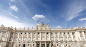 Palais royal de Madrid Photo libre de droits