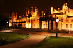 Palais royal de pavillon à Brighton image stock