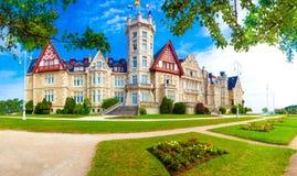 Palais royal de Santander Magdalena image libre de droits
