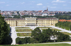 Palais royal de Schonbrunn Photographie stock libre de droits