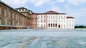 Palais royal de Venaria à Turin Images libres de droits