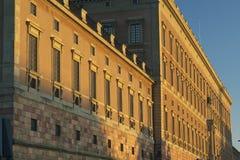 Palais royal en Suède Images libres de droits
