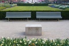 Palais Royal Gardens Royalty Free Stock Images