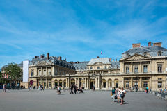 The Palais Royal, home of the Conseil d`Etat Stock Photography