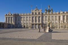 Palais royal à Madrid Image libre de droits