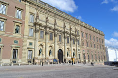 Palais royal à Stockholm, Suède. Photo libre de droits