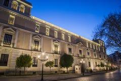 Palais royal Valladolid image stock