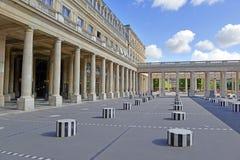 Palais Royale, Paris, França Foto de Stock Royalty Free