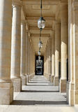 Palais Royale, Paris, Frankrike Royaltyfria Bilder